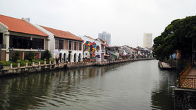 Malacca River Royalty Free Stock Photo
