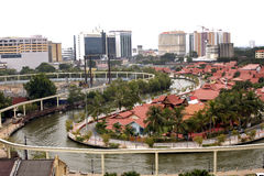 Malacca River Royalty Free Stock Photography