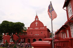 Malacca stad Malaysia Arkivfoto