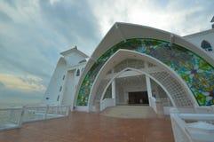 Malacca Straits Mosque. stock photos