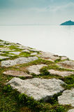 Malacca Straits from Penang Royalty Free Stock Images