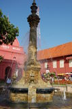 Malacca Water Fountain Royalty Free Stock Photo