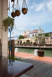 Malacca Water Way Stock Photography