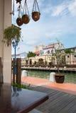 Malacca Water Way stock photography