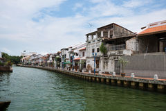Malacca Water Way Royalty Free Stock Photography