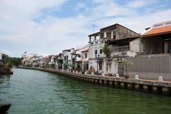 Malacca wody sposób Fotografia Royalty Free