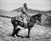 Malachi. Old gun toting cowboy Stock Image