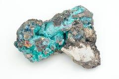 Malachite με το azurite Στοκ εικόνα με δικαίωμα ελεύθερης χρήσης