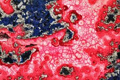 Natural Malachite close up
