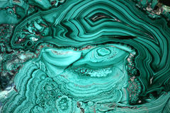 Malachite as Background Royalty Free Stock Photo