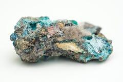 Malachite with azurite Stock Image