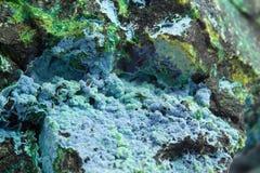 Malachite macro Stock Images