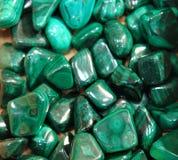 Malachite mineral background Stock Image