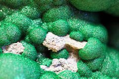 malachite mineral texture stock images