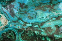 Malachite mineral texture. As very nice background stock photography