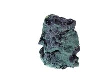 Malachite. Origin: Zaire/Kongo Royalty Free Stock Images