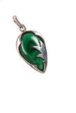 Malachite Pendant Stock Image