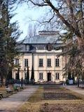 Malachowski family palace, Naleczow, Poland Royalty Free Stock Images