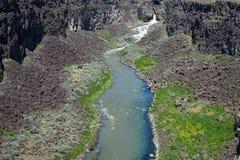 Malad峡谷-爱达荷 免版税库存照片
