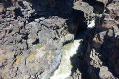 Malad klyfta - Idaho Arkivfoto
