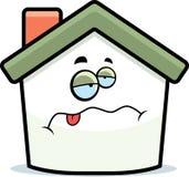 Malade à la maison