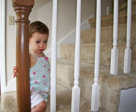 Malade de bébé Photo libre de droits