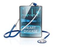 Maladie cardiaque images libres de droits