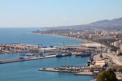 malaga Испания Стоковая Фотография RF