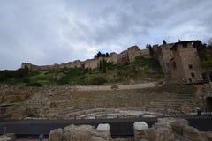 Malaga royaltyfri bild