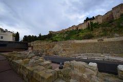 Malaga royaltyfria bilder