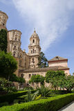 Malaga. Cathedral in Andalucia, Spain Royalty Free Stock Images