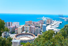 Malaga. Royalty Free Stock Photography