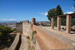 Malaga stock afbeelding