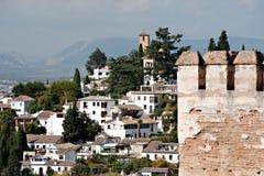 Malaga Arkivbild