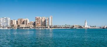 Malaga Fotografia Stock