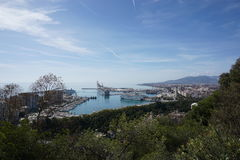 Malaga fotografia royalty free