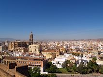 Malaga Royalty-vrije Stock Foto's