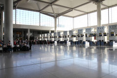 Malaga airport Stock Images