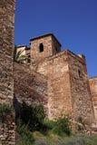 Malaga Alcazaba castle Stock Images