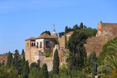 Malaga Alcazaba Royalty Free Stock Photos