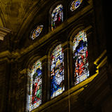 MALAGA, ANDALUCIA/SPAIN - JULY 5 : Interior View of the Cathedra Stock Image