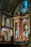 MALAGA, ANDALUCIA/SPAIN - JULY 5 : Interior View of the Cathedra Royalty Free Stock Photos