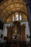 MALAGA, ANDALUCIA/SPAIN - JULY 5 : Interior View of the Cathedra Royalty Free Stock Photography