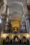 MALAGA, ANDALUCIA/SPAIN - JULY 5 : Interior View of the Cathedra Royalty Free Stock Photo