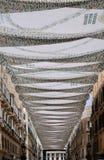 MALAGA, ANDALUCIA/SPAIN - 5 LUGLIO: Vista del centro urbano del Mal Immagini Stock