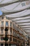 MALAGA, ANDALUCIA/SPAIN - 5 LUGLIO: Vista del centro urbano del Mal Fotografie Stock