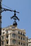 MALAGA, ANDALUCIA/SPAIN - 5 LUGLIO: Vista del centro urbano del Mal Immagini Stock Libere da Diritti