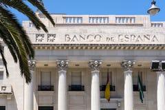 MALAGA, ANDALUCIA/SPAIN - 25 MAGGIO: Vista dell'esterno della B Immagine Stock