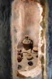 MALAGA, ANDALUCIA/SPAIN - 25 MAGGIO: Vista di alcuni vasi antichi dentro Fotografia Stock Libera da Diritti