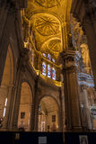 MALAGA, ANDALUCIA/SPAIN - MAY 25 : Interior View of the Cathedra Stock Image